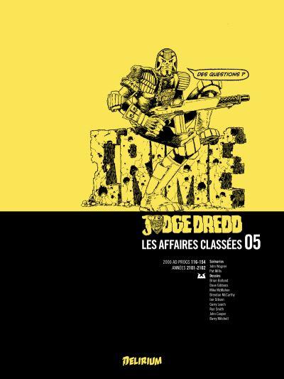 Judge Dredd, Affaires Classées 5