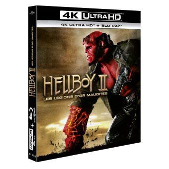 HellboyHellboy II : Les légions d'or maudites Blu-ray 4K Ultra HD