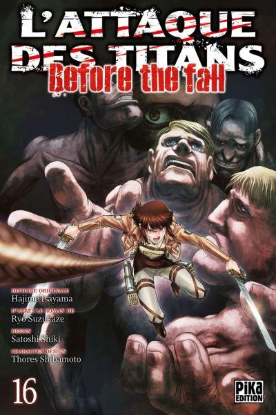 L'Attaque des Titans - Before the Fall T16 - 9782811648930 - 4,49 €