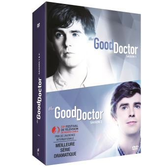 The Good DoctorCoffret The Good Doctor Saisons 1 et 2 DVD