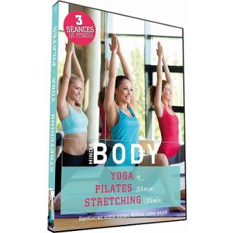 Mind and Body Yoga Pilates Stretching DVD