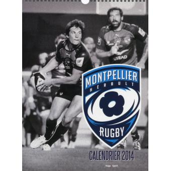 Montpellier Rugby Calendrier.Calendrier Mural Montpellier Rugby 2014