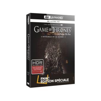 Le trône de ferGame of Thrones Saison 1 Edition spéciale Fnac Blu-ray 4K Ultra HD