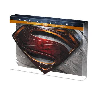 Man of Steel Combo Blu-Ray 3D + DVD Edition Ultimate Boîtier métal