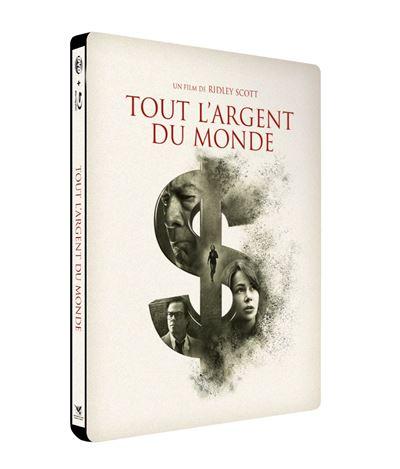 Tout l'argent du monde  Tout-l-argent-du-monde-Edition-Fnac-Steelbook-Combo-Blu-ray-DVD