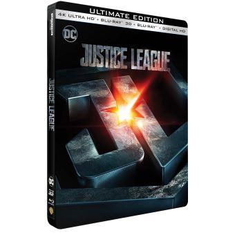 Justice leagueJustice League Steelbook Blu-ray 4K Ultra HD