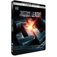 Justice League Steelbook Blu-ray 4K Ultra HD
