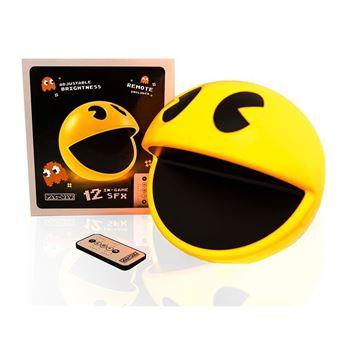 Lampe télécommandée et sonore Pac-Man