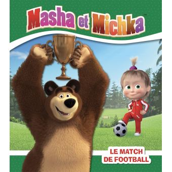Masha et MichkaLe match de football