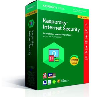 Kaspersky Internet Security 2018 3 Postes 1 An Maj