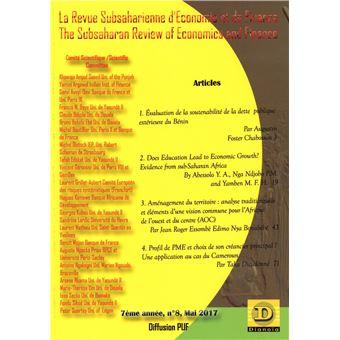 Subsaharienne d'economie et de finance,08