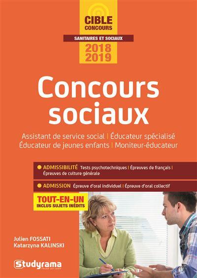 Concours sociaux catégoie B