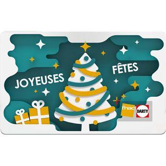 Fnac Noel E carte cadeau Fnac Noël rouge, Top Prix | fnac
