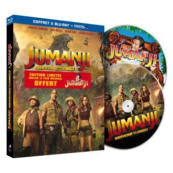 JumanjiJumanji : Bienvenue dans la jungle Edition limitée Blu-ray