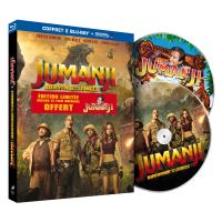 Jumanji : Bienvenue dans la jungle Edition limitée Blu-ray