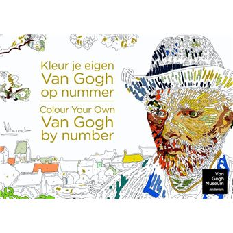 Kleur je eigen Van Gogh op nummer, Colour your own Van Gogh by number