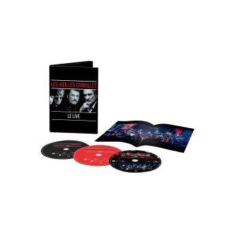 Les vieilles canailles L'album Live Coffret Edition Limitée Inclus DVD