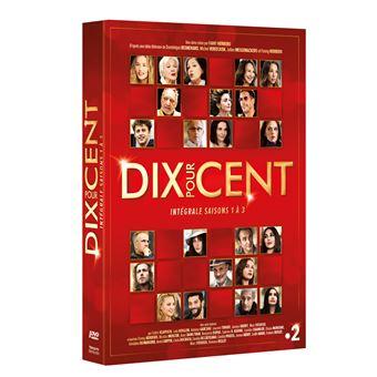 Dix pour centCoffret Dix pour cent Saisons 1 à 3 DVD