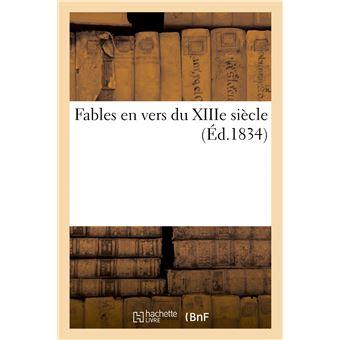 Fables en vers du XIIIe siècle