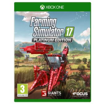FARMING SIMULATOR 17 PLATINUM EDITION MIX XONE