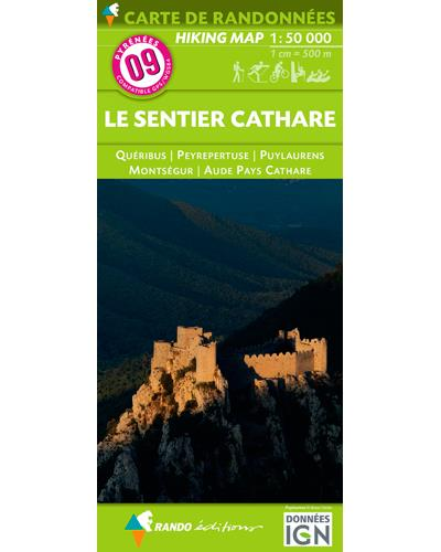 09 Sentier Cathare (Le) 1/55 000