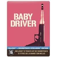 Baby Driver Steelbook Blu-ray
