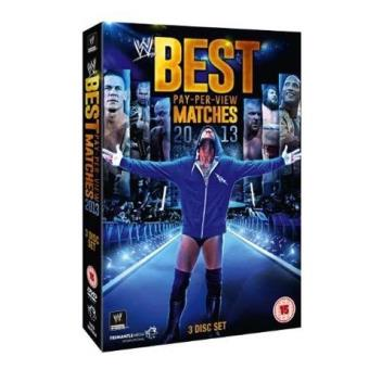 WWE The Best PPV Matches 2013 DVD