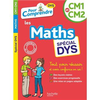 Maths CM1-CM2 Dyslexie
