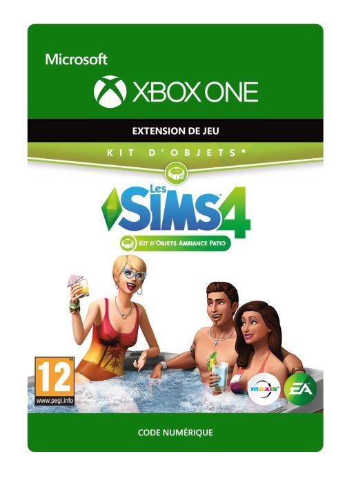 Code de téléchargement Les Sims 4 : Kit d'objets ambiance Patio Xbox One