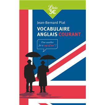 Vocabulaire anglais courant