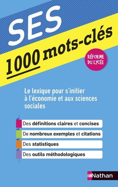 1000 mots clés - SES