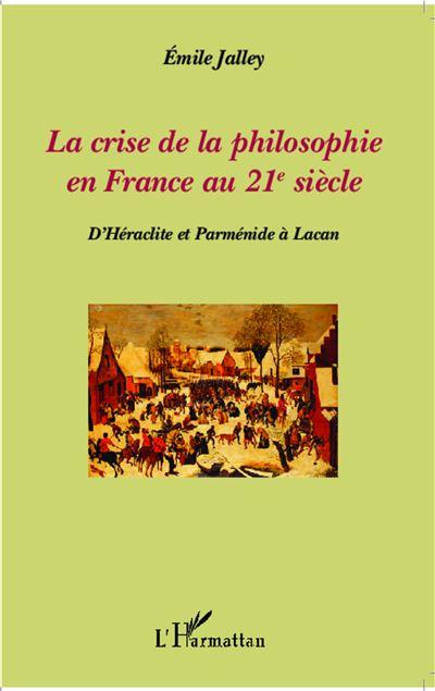 La crise de la philosophie en France au 21e siècle