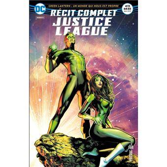 Justice leagueJustice league recit complet,13:revolution cosmique
