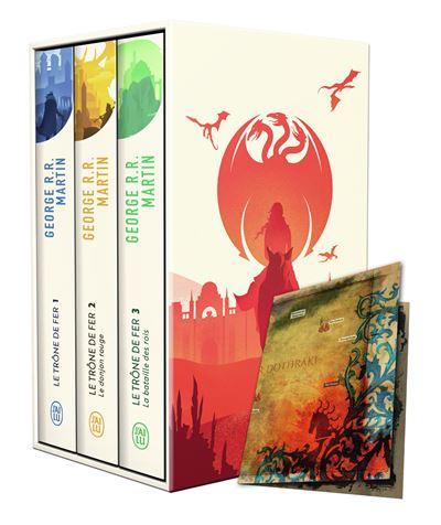 Coffret 3 Volumes, Tome 1 à Tome 3 + Carte Collector