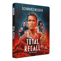 Total Recall Steelbook Blu-ray 4K Ultra HD