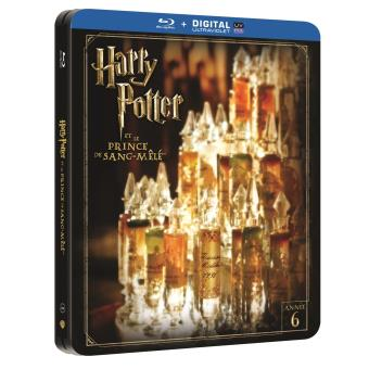 Harry PotterHarry Potter et le Prince de sang-mêlé Steelbook Blu-ray