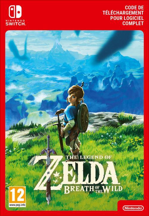 Code de téléchargement The Legend of Zelda Breath of the Wild Nintendo Switch
