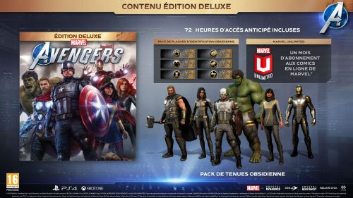 Marvel's Avengers Edition Deluxe PS4