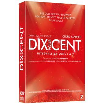 Dix pour centCoffret Dix pour cent Saisons 1 et 2 DVD
