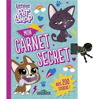 Littlest PetshopMon carnet secret (avec cadenas)