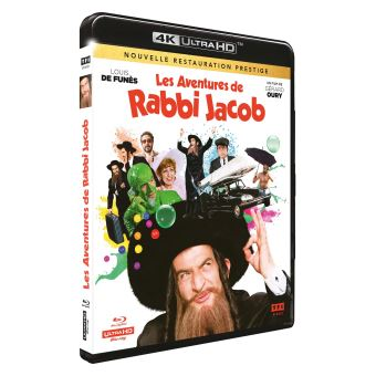 Les Aventures de Rabbi Jacob Blu-ray 4K Ultra HD