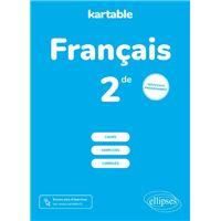 Francais 2nde 2nde Livre Bd Fnac