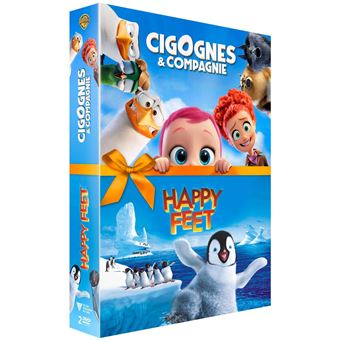 Coffret Storks Happy Feet DVD