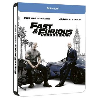Fast and FuriousFast and Furious : Hobbs and Shaw Steelbook Blu-ray