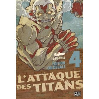 L'attaque des TitansL'Attaque des Titans Edition Colossale