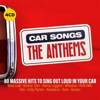 Car Songs The Anthems Coffret