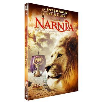 NarniaCoffret Narnia L'intégrale des 3 films DVD