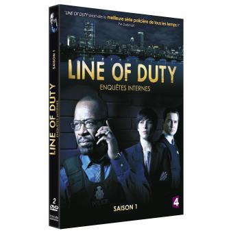 Serie Line Of DutyCoffret Line Of Duty Intégrale de la Saison 1 DVD
