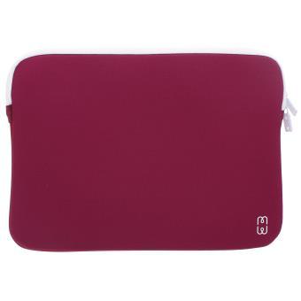 """Housse MW Nouveau Bordeaux et Blanche pour MacBook Pro 13"""""""