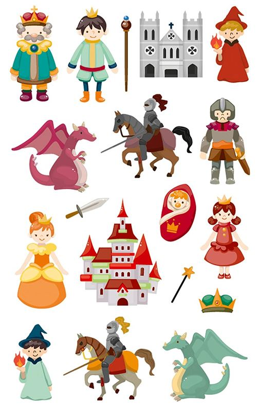 Stickers Maildor Cooky Chevaliers